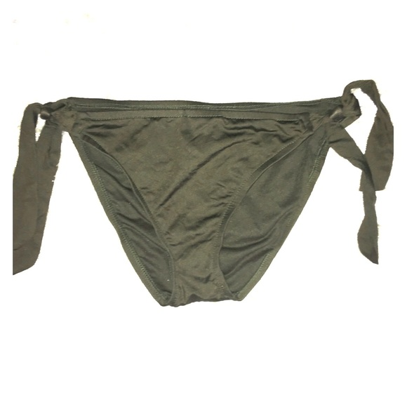 Mossimo Supply Co Swim Army Green Bikini Bottoms M Poshmark